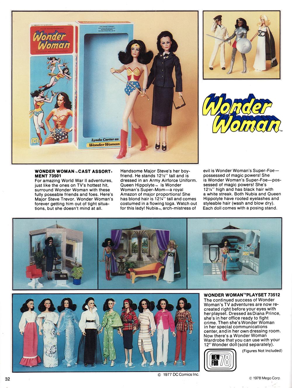 c0e7f841cbf8 Mego 1978 Catalog Cover showing 1978 lineup